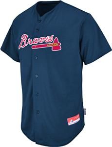 MLB Cool Base Atlanta Braves Baseball Jersey - Fan Gear