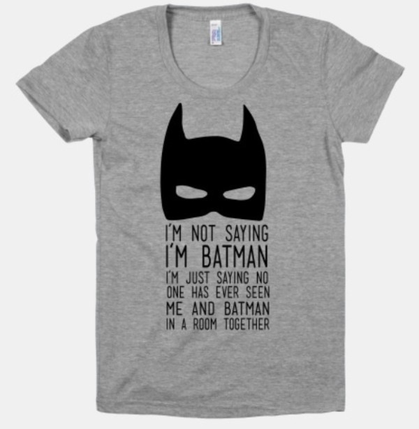 Funny T Shirts For Women With Saying Shirt batman t-shirt funny