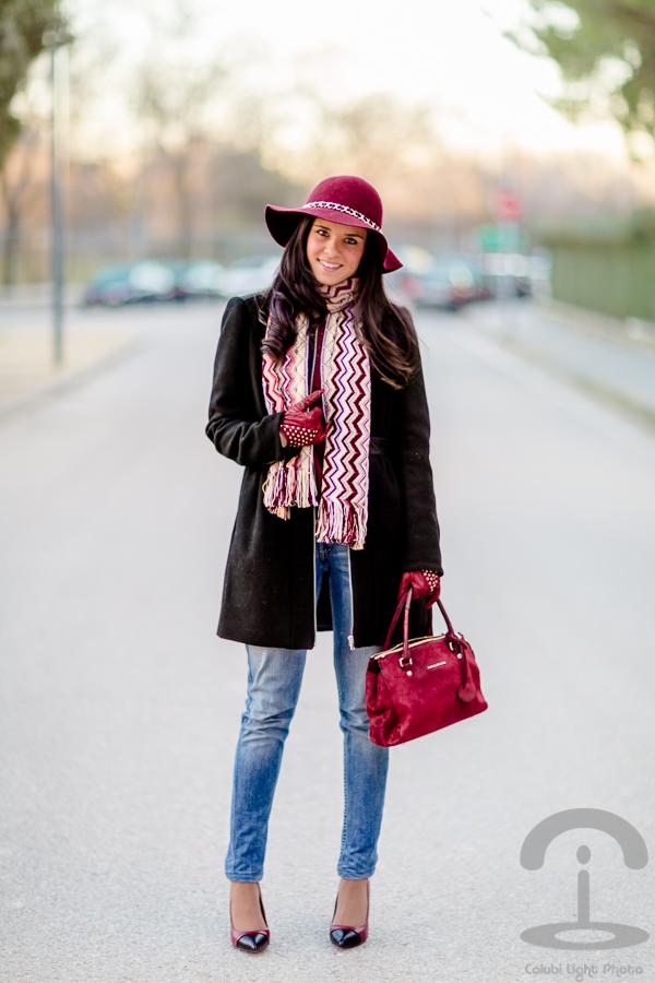 DIY Sombrero con cadena | Crímenes de la Moda en stylelovely.com