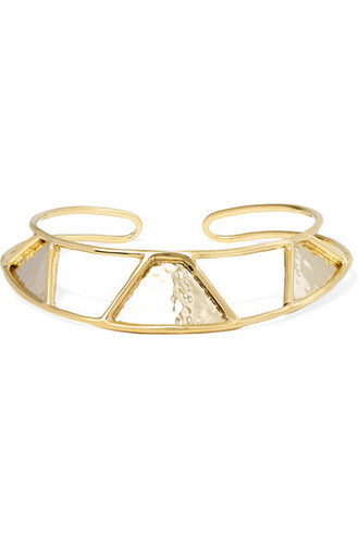triangle gold silver jewels