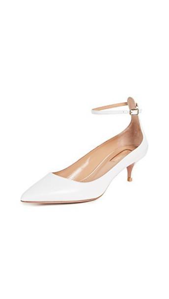 pumps white shoes