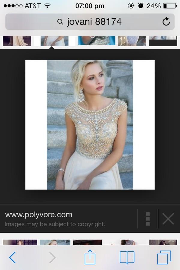 dress jovani prom dress perf cute prom dress blouse