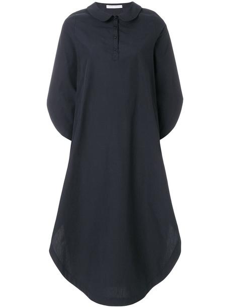 Société Anonyme dress wings women cotton blue