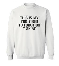 I Love The 90s Crew Neck Sweatshirt