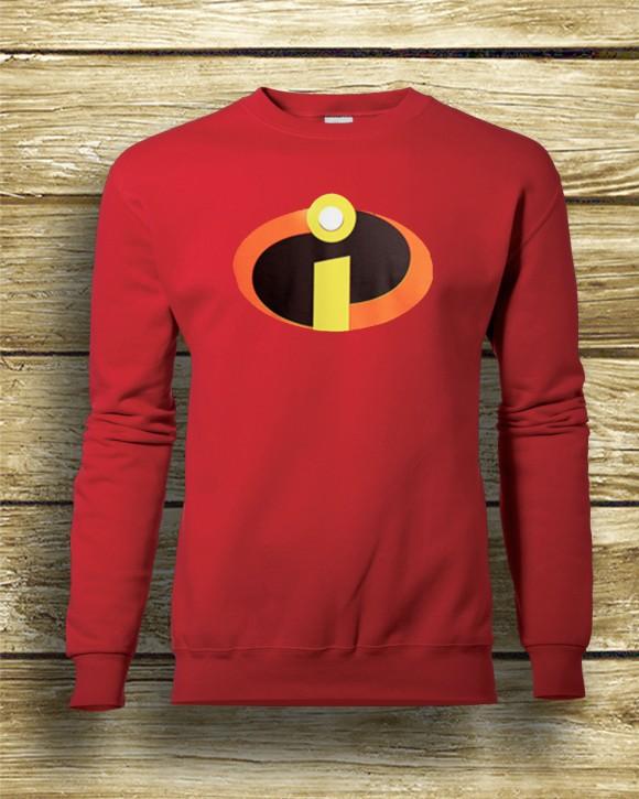 Incredibles inspired superhero sweatshirt