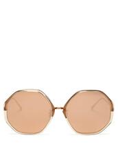 oversized,rose gold,rose,sunglasses,gold