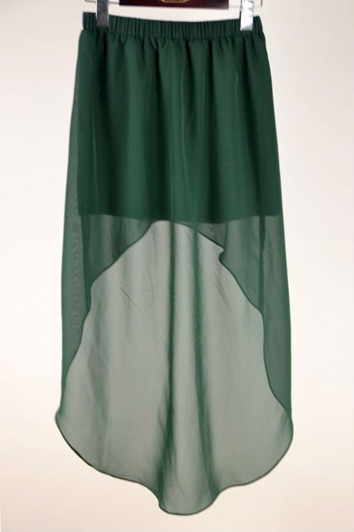 e271abe2c1 Yigelila Plus Size Western Style Cheap Front Short Long Back Women Skirt -  Buy Cheap Long Plus ...