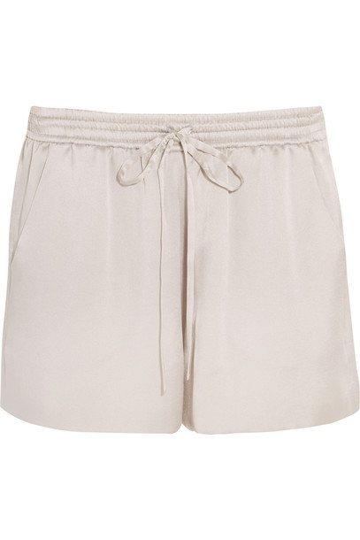 shorts silk satin