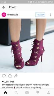 shoes,purple shoes,high heel sandals,peep toe heels
