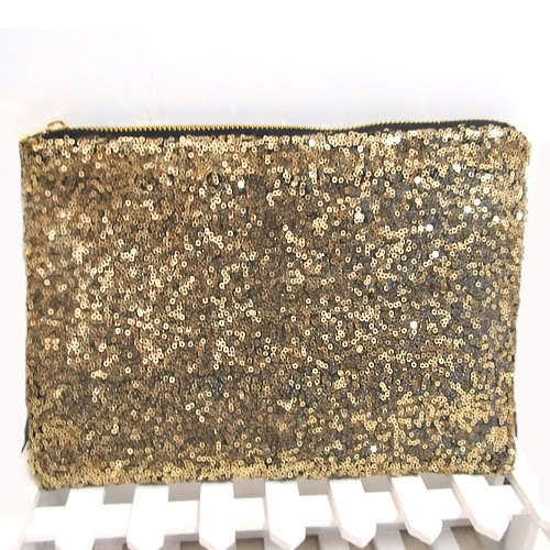 2014 new arrving hot selling Glittered Envelope Clutch Handbag evening party clutch bags modern gold color-in Evening Bags from Luggage & Bags on Aliexpress.com