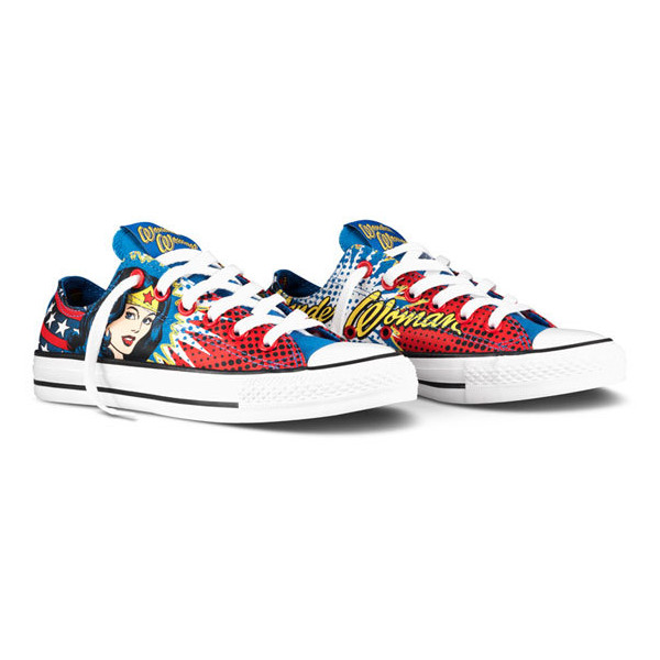 DC Comics x Converse Chuck Taylor All Star – Killer Croc   W... - Polyvore
