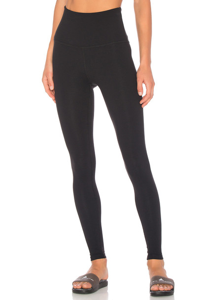 Beyond Yoga Take Me Higher Long Legging in black