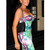 Multi Sexy Dress - Bqueen Multicolor Strape Sexy Bandage | UsTrendy