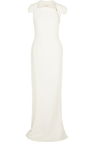 gown white off-white dress