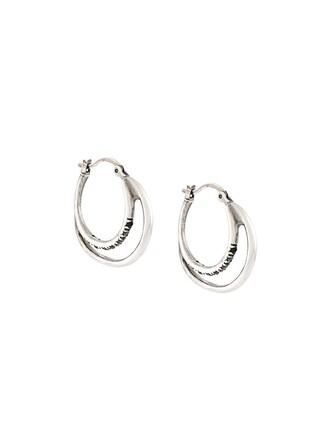 earrings silver metallic jewels