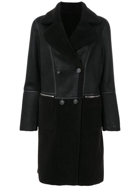 Urbancode coat double breasted women black