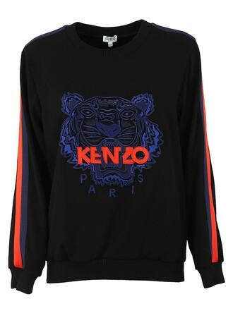 sweatshirt tiger black sweater
