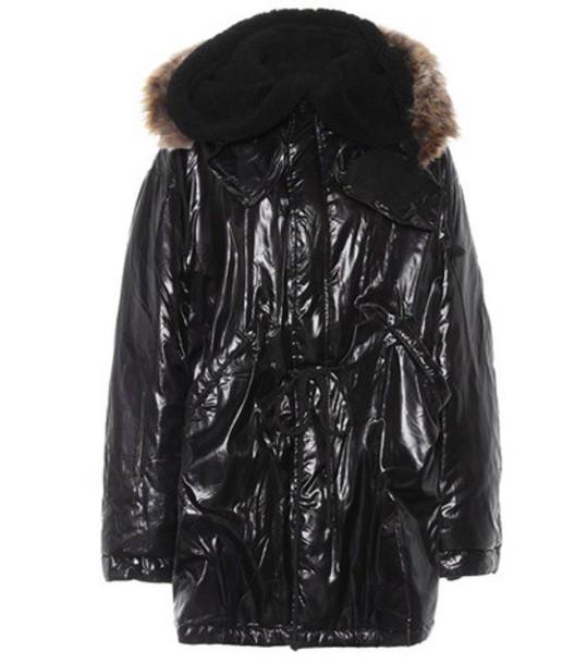 yeezy coat oversized coat oversized black