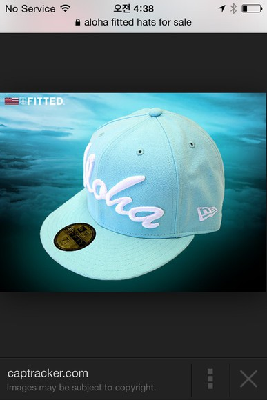 tiffany aqua fitted
