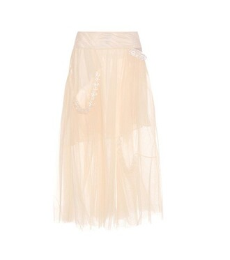 skirt tulle skirt embellished