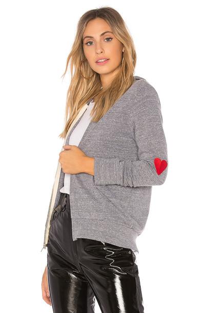 Monrow hoodie love sweater