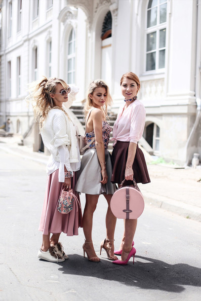 ohh couture blogger jacket shoes bag jewels blouse sunglasses girl squad