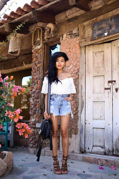 shirt hippie bohemian hipster shorts tumblr fashion vibe shoes