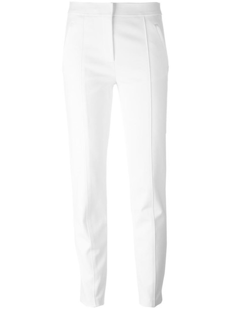 Tory Burch women spandex nude cotton pants