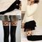 Fashion loving heart dual color tattoo socks sheer pantyhose tights stockings | ebay