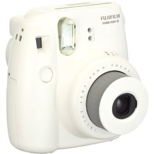 Amazon.com : Fujifilm Instax Mini 8 Instant Film Camera (White) : Polaroid Camera : Camera & Photo