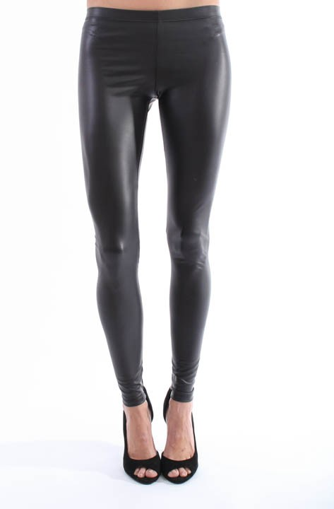 Street style liquid leggings