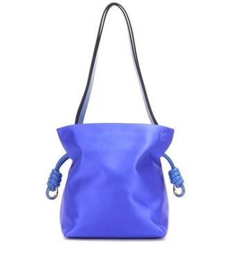 bag shoulder bag satin blue