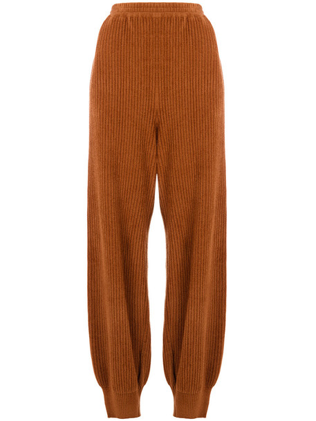 Boboutic women spandex brown pants