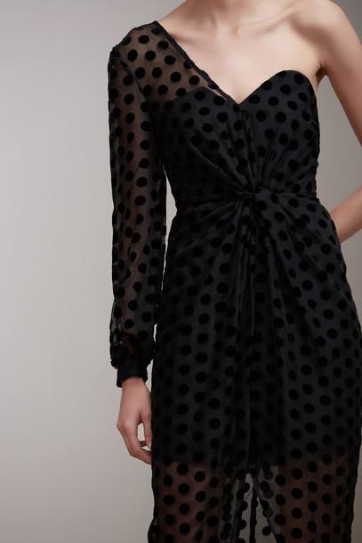 Keepsake gown black dress