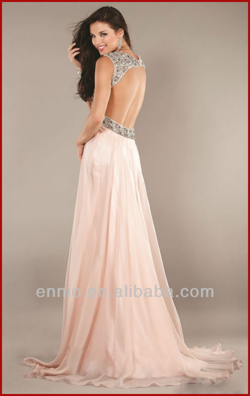 Sexy Low Neckline Chiffon Long Open Back Evening Dresses For Pregnant Women EG1684-in Evening Dresses from Apparel & Accessories on Aliexpress.com