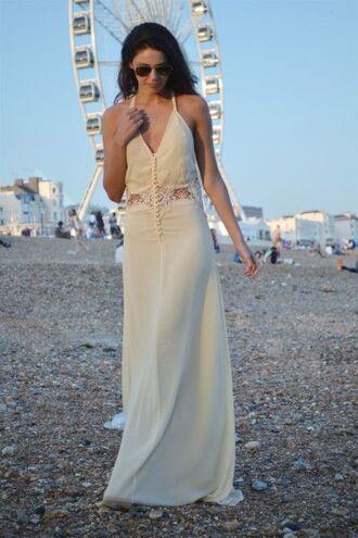 dress white dress white long dress prom dress party dress