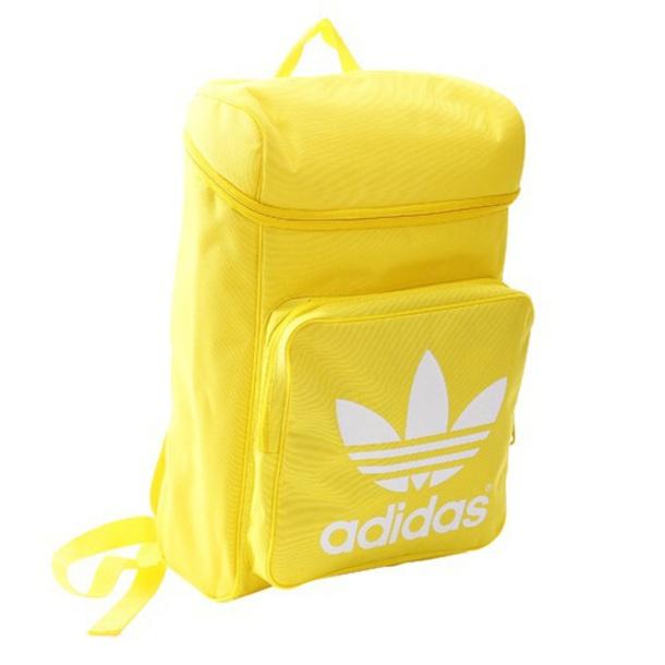 bag yellow adidas backpack tumblr