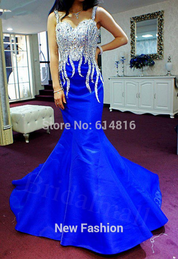 Aliexpress.com : Buy Free shipping Lalic Beading Sexy Mermaid prom dresses party ball gown Pegeant dresses Custom size Hot Selling 2014 New Fashion from Reliable prom dress chiffon suppliers on Suzhou Babyonlinedress Co.,Ltd
