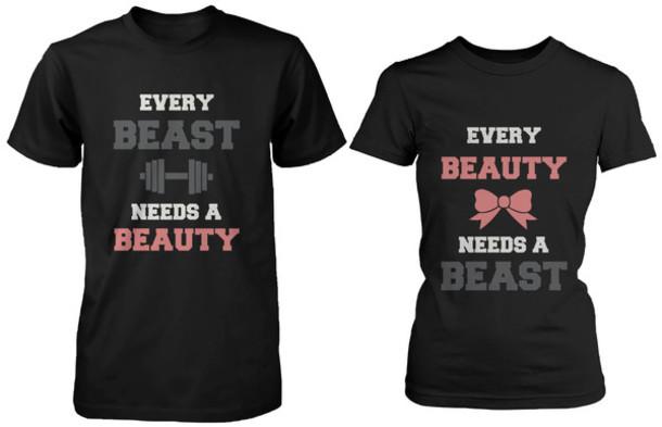 Every Beauty Needs a Beast Sweater Shirt Every Beauty Needs a