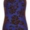Klion molded bustier top in midnight by mary katrantzou | moda operandi