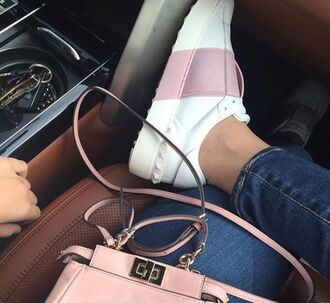 shoes valentino sneakers valentino valentino rockstud valentino shoes luxury sneakers luxury sneaker white paris luxury white pink sporty