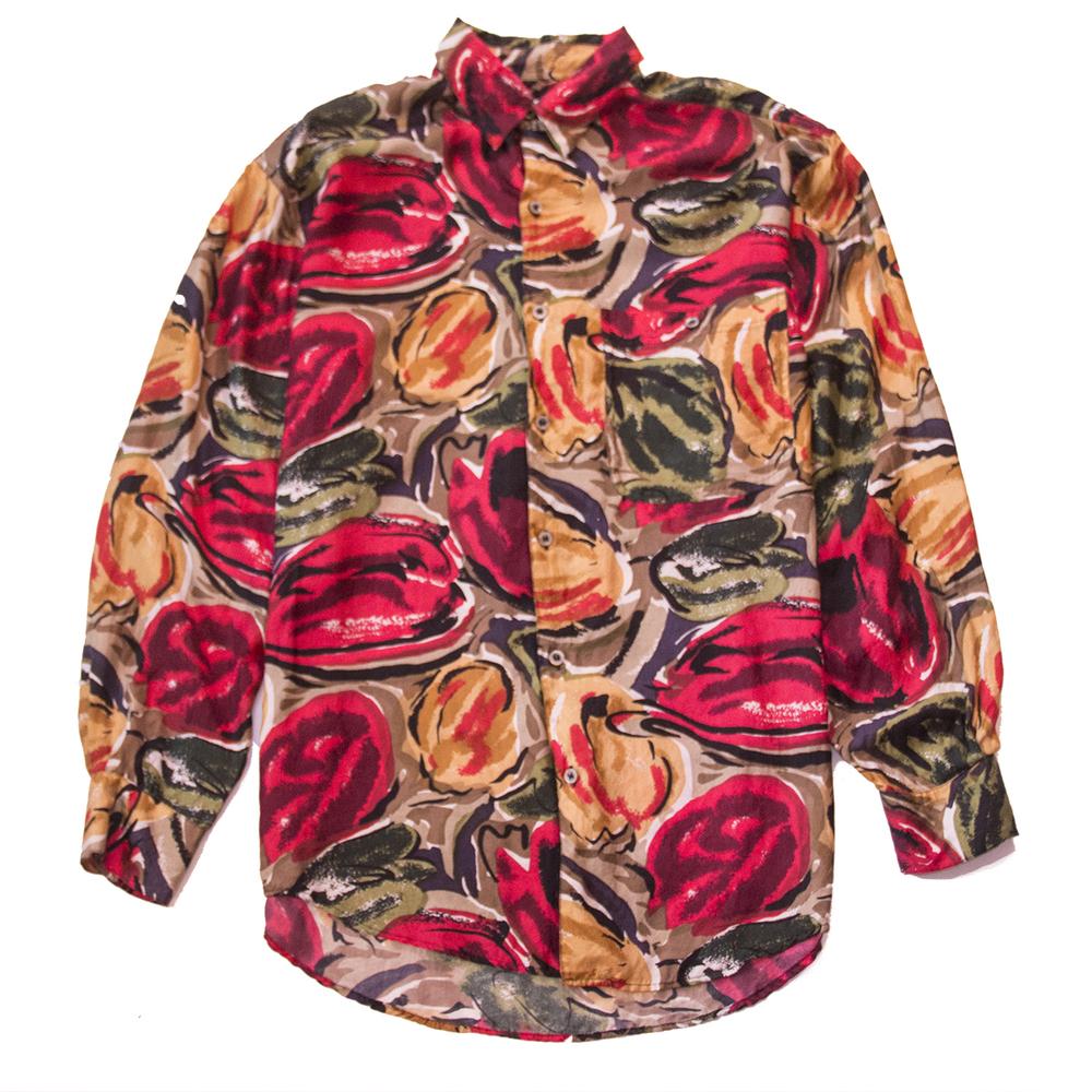 Goouch mtv silk shirt