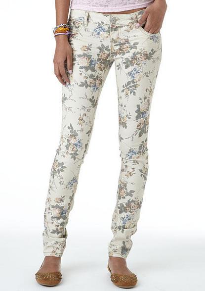 Floral Skinny Jean - Skinny -