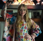 dress,blockers,kathryn newton,chanel,floral,floral dress
