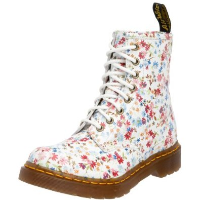 Dr. martens womens floral 1460 boot: amazon.co.uk: shoes & accessories