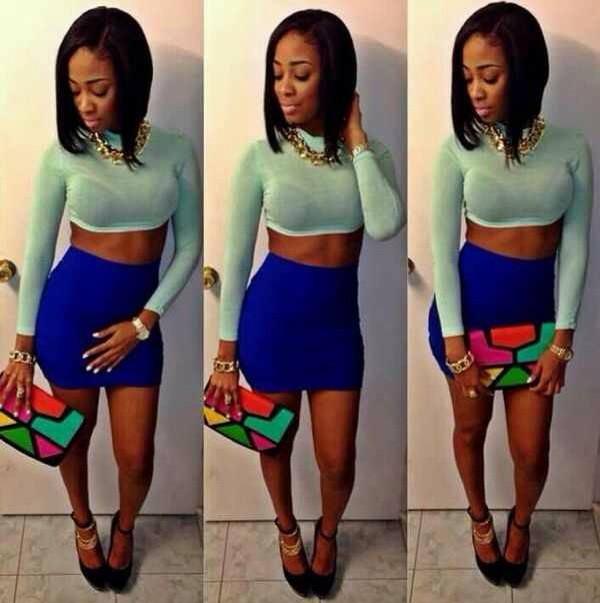 bag skirt shirt