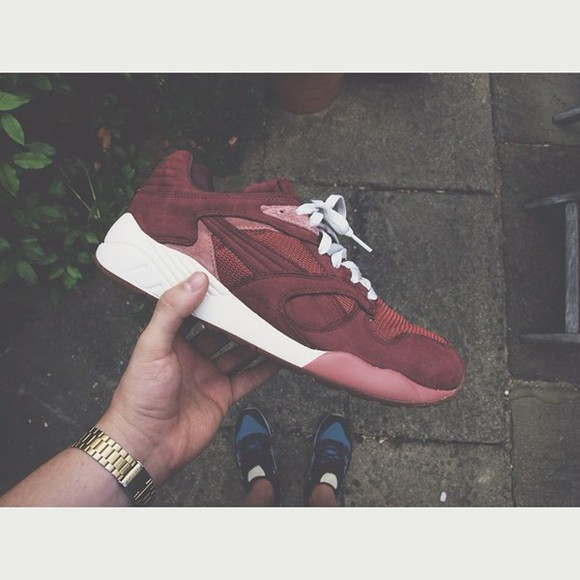 shoes bordeaux insta puma