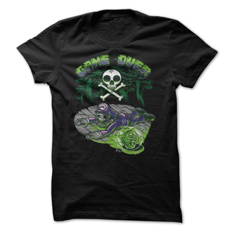 t-shirt mario super mario mushroom death deadly mario bros teehunter