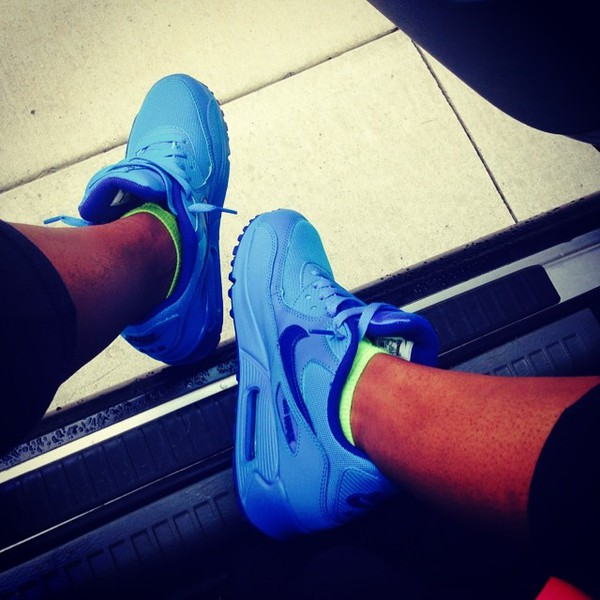 shoes sneakers nike air max 90 bright sneakers