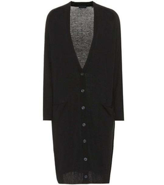 ATM Anthony Thomas Melillo cardigan cardigan silk wool black sweater